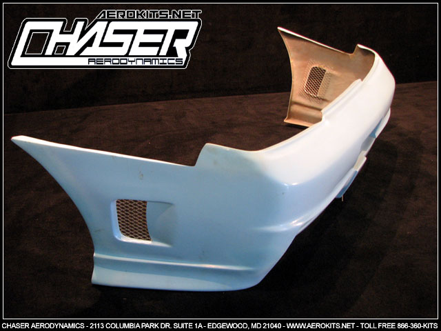 Bomb Rear Bumper | 3DR | S13 - Click Image to Close