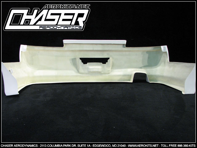 VTX Rear Bumper | 4DR - Click Image to Close